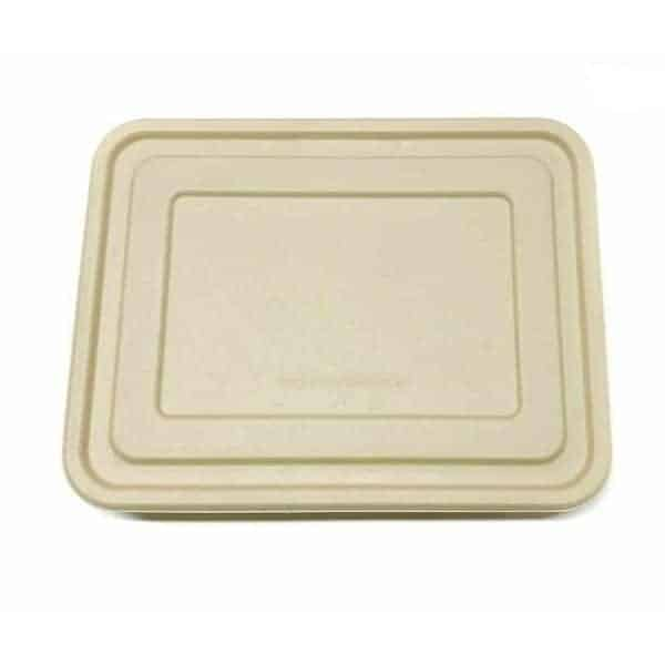 Disposable Green - 5 Compartment Plate Lid